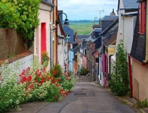 Saint Valery-sur-Somme rue des Pilotes