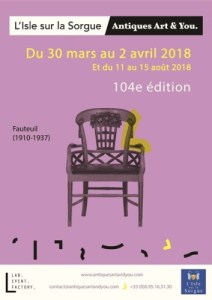 Antiques Festival poster