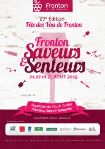 Fronton Saveurs poster