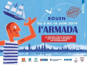 Rouen Armada 2019 poster