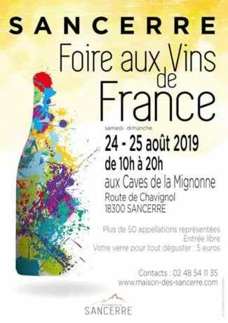 Sancerre WIne Fair poster 2019