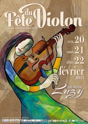 Violinm Festival poster