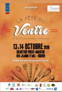 Rouen Fete du Ventre poster