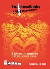 Montpellier Guitar Festival poster