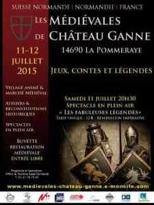 Chateau de Ganne poster