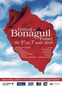 bonaguil festival poster