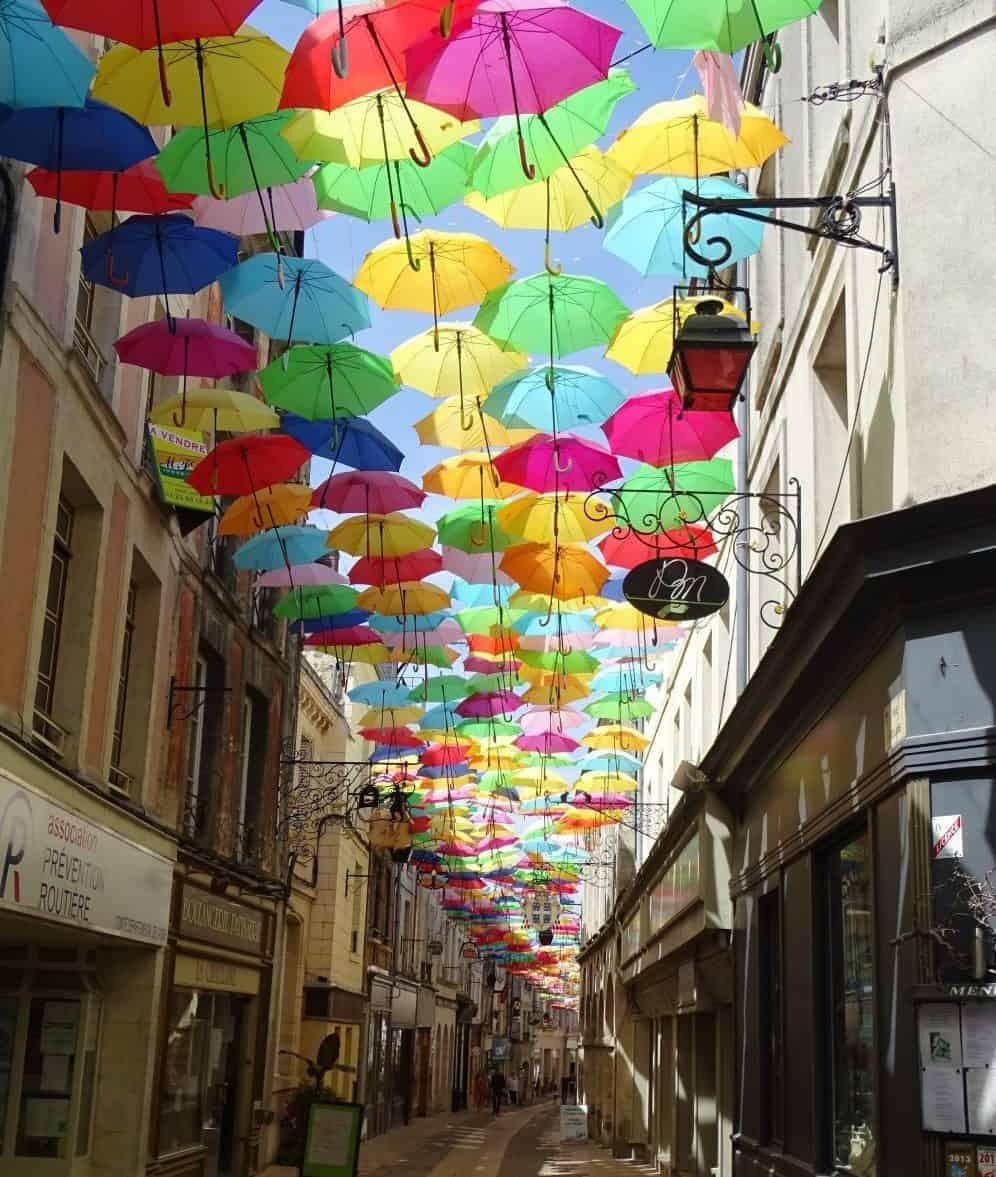 Laon - parapluies