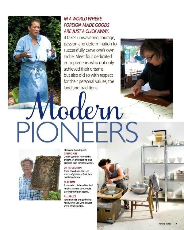 MODERN PRIONEERSPrairiestylemagazine