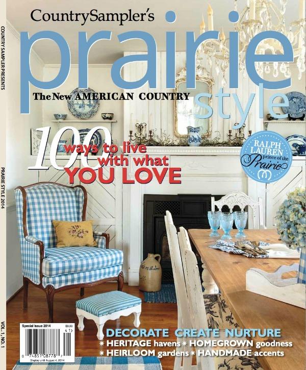 Living Style Magazine the prairie style magazine
