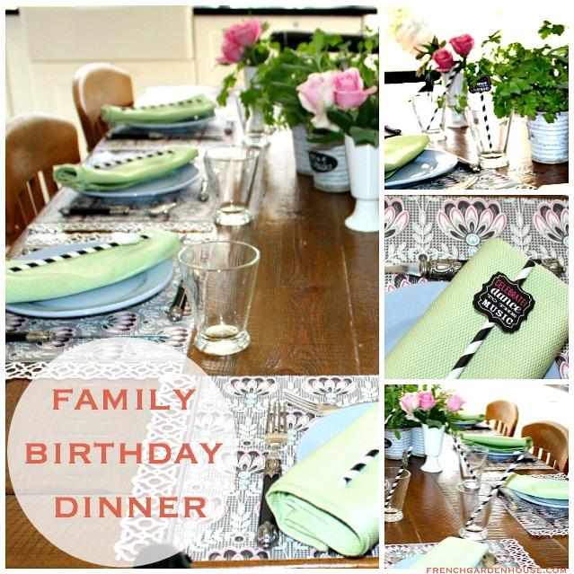 Family Birthday Dinner: Aka World's BEST CHICKEN