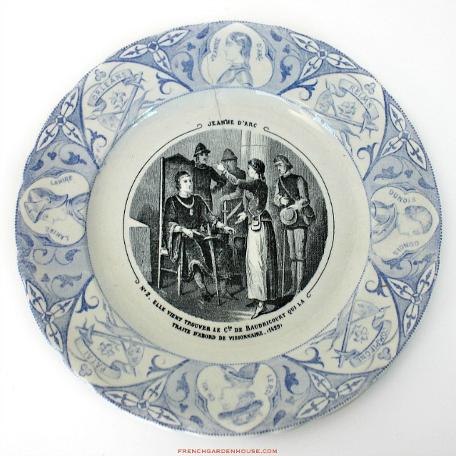 These plates are the darlings of designers and collectors alike as they are wonderful to display in a hutch hang on the wall flanking an antique French ...  sc 1 st  FrenchGardenHouse : antique french plates - Pezcame.Com