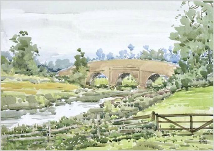 Bridge-Near-the-Bodiam-Castle