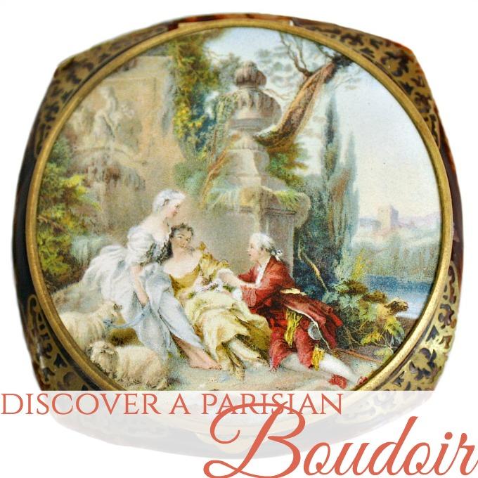 Discover a Parisian Boudoir