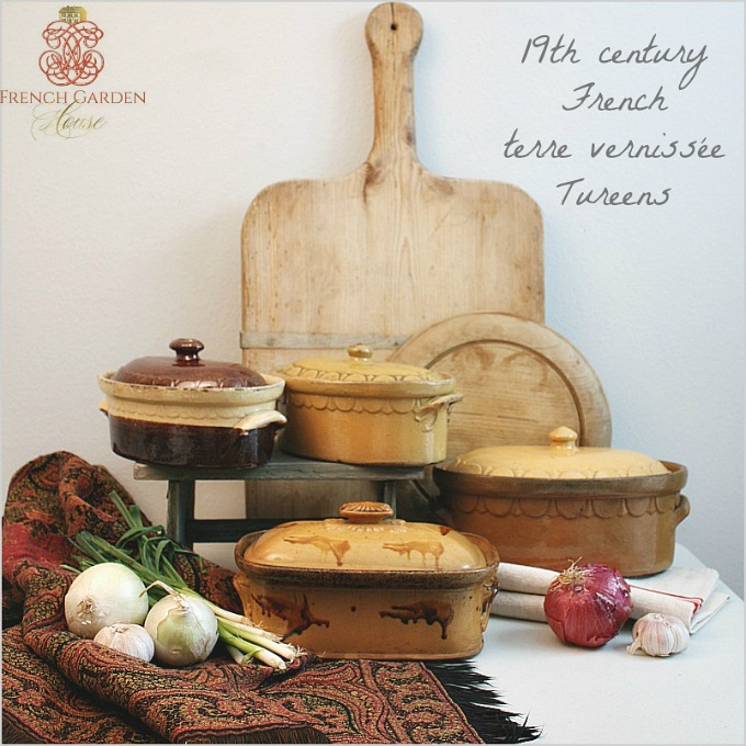 French Kitchen Garden: Collecting French Culinary Antiques