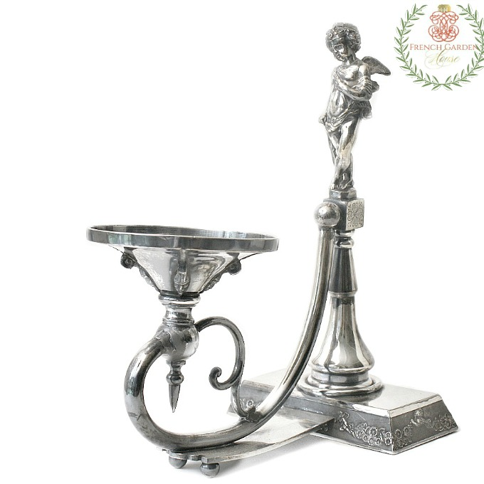 Antiques with a Silver Holiday Glow