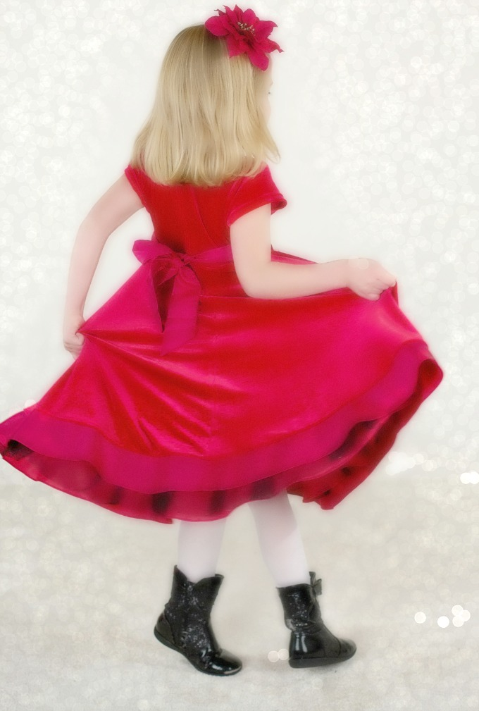 little-girl-reddress