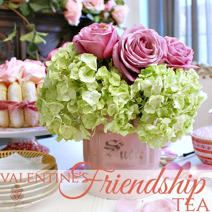 Host A Valentine's Friendship Tea