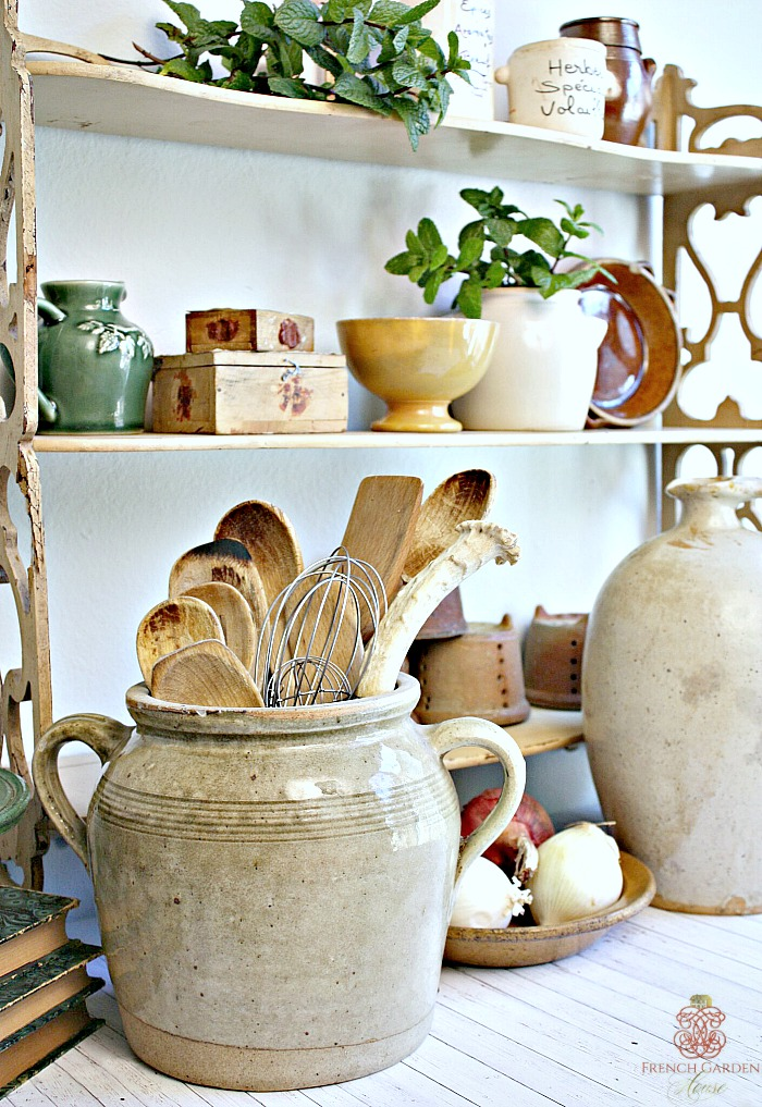 Collecting french country culinary antiques for French country house blog