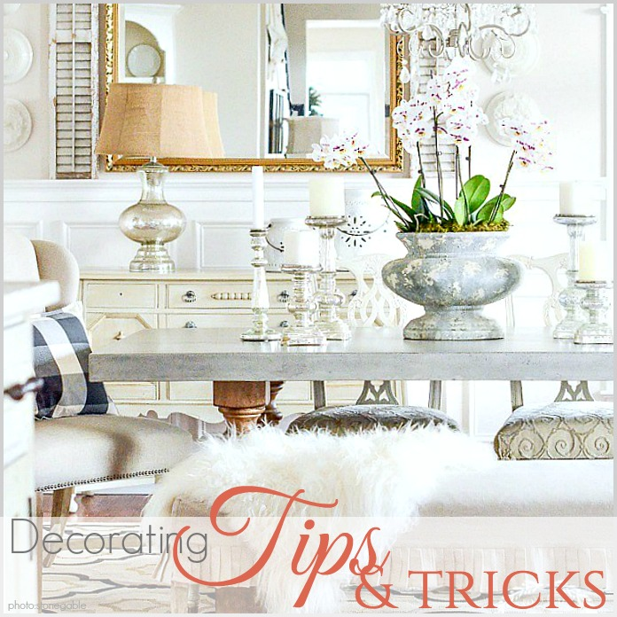 Decorating Tips Tricks