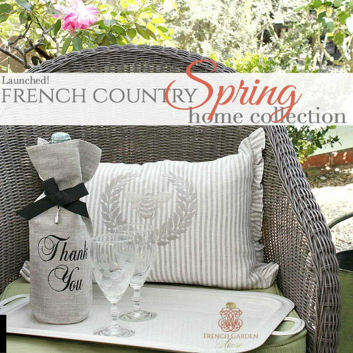 THE FRENCH COUNTRY SPRING HOME COLLECTION