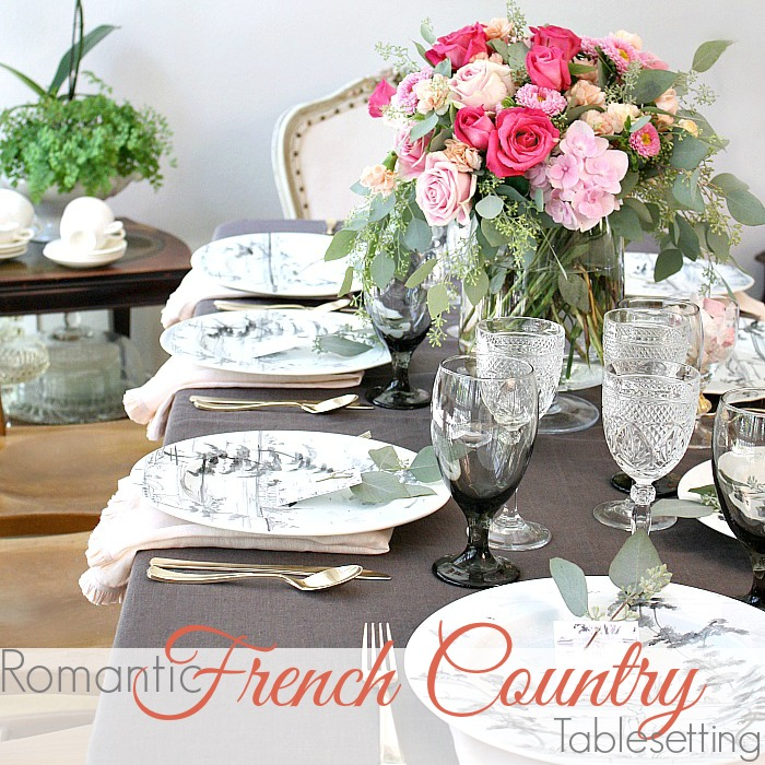 ROMANTIC FRENCH COUNTRY SUMMER TABLE | How to Set your Table like a PRO & ROMANTIC FRENCH COUNTRY TABLE SETTING TIPS.