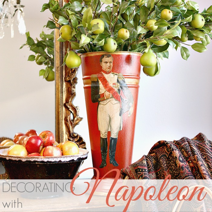 DECORATING WITH NAPOLEON