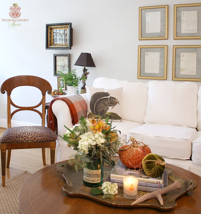 Autumn at home for French country house blog