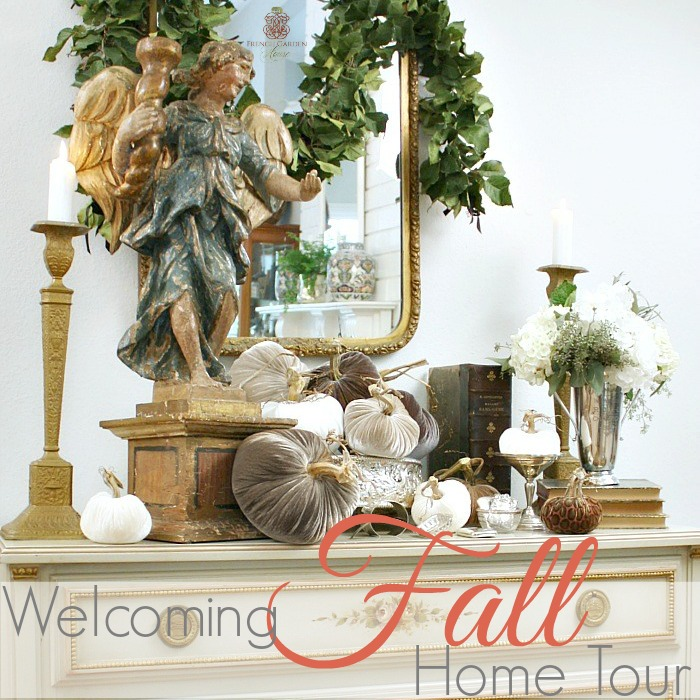 WELCOMING FALL HOME TOUR