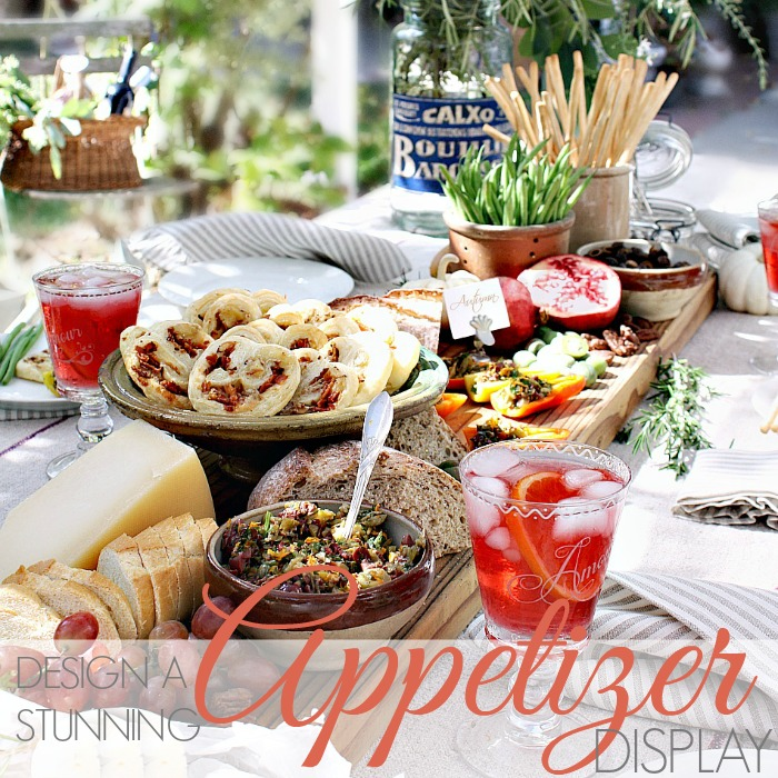 AUTUMN ENTERTAINING | HOW TO DESIGN A STUNNING APPETIZER DISPLAY