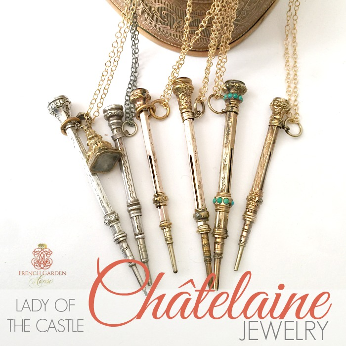 LOVE & DEVOTION JEWELRY  – CHATELAINE PENCILS