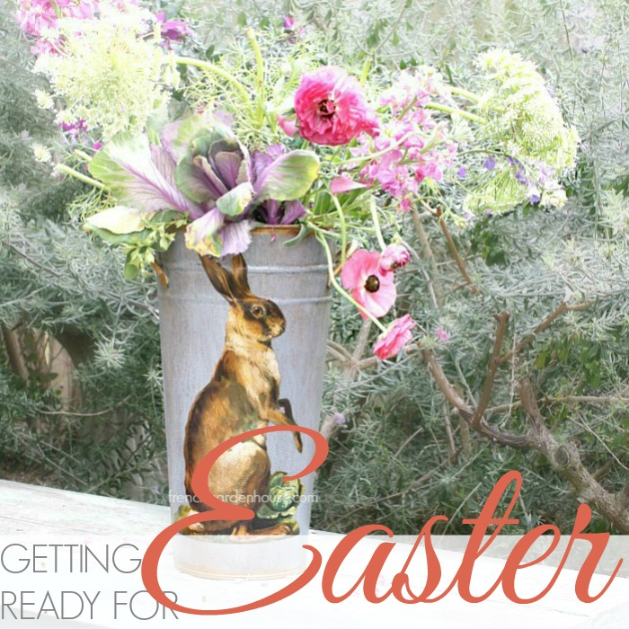 GETTING READY FOR EASTER