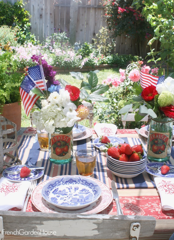 A French Country Summer Table Setting