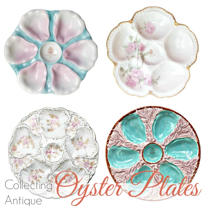 SECRET LIFE OF ANTIQUES | OYSTER PLATES