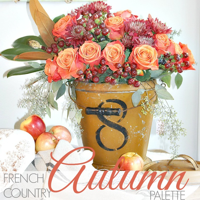 FRENCH COUNTRY AUTUMN PALETTE