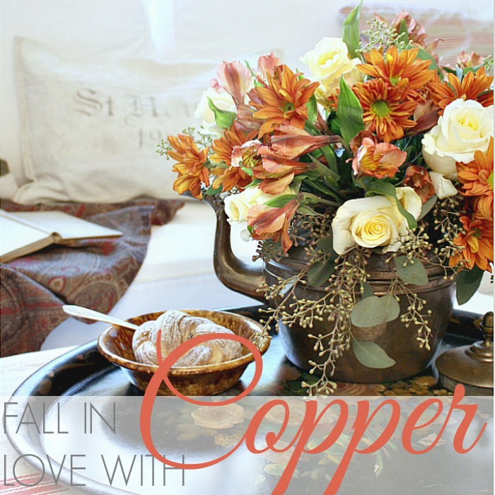 FLORAL FRIDAY   FALL IN LOVE WITH COPPER