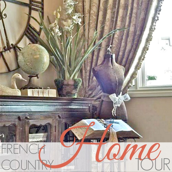 A FRENCH COUNTRY HOME TOUR