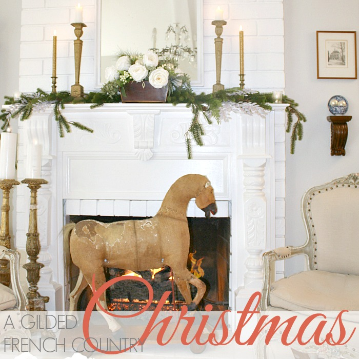 A GILDED FRENCH COUNTRY CHRISTMAS