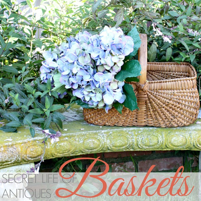 THE SECRET LIFE OF ANTIQUES | BASKETS