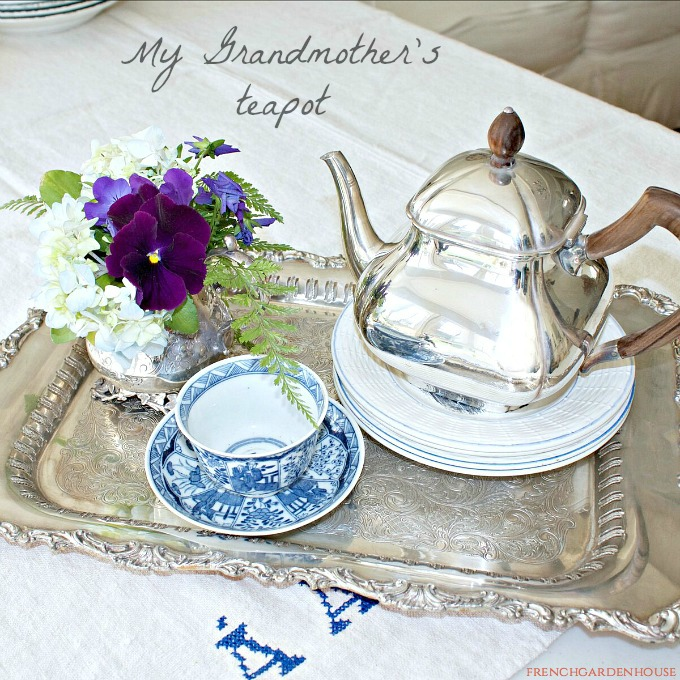 decorating with antique silver french