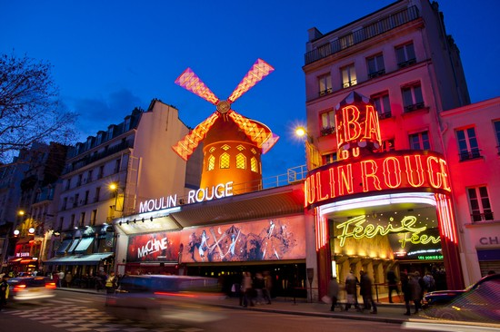 Moulin Rouge, Place Pigalle
