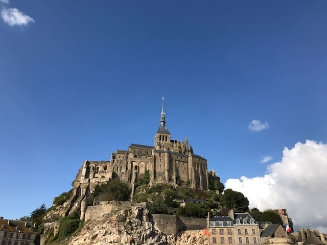 Mont Saint-Michel in French