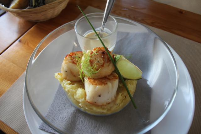 say scallop in french