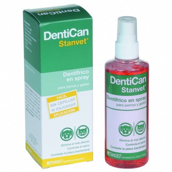 spray dentifrico higiene dental perros dentican stangest