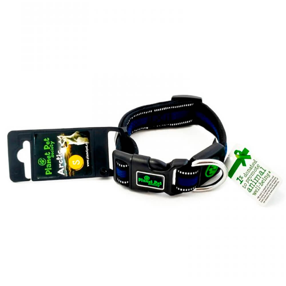 collar perros planet pet azul