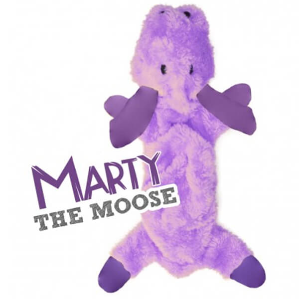 juguete perro peluche marty the moose beco