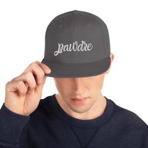 Frenchie Pawdre Snapback Hat