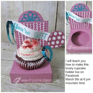 Cupcake Holder, Frenhie live