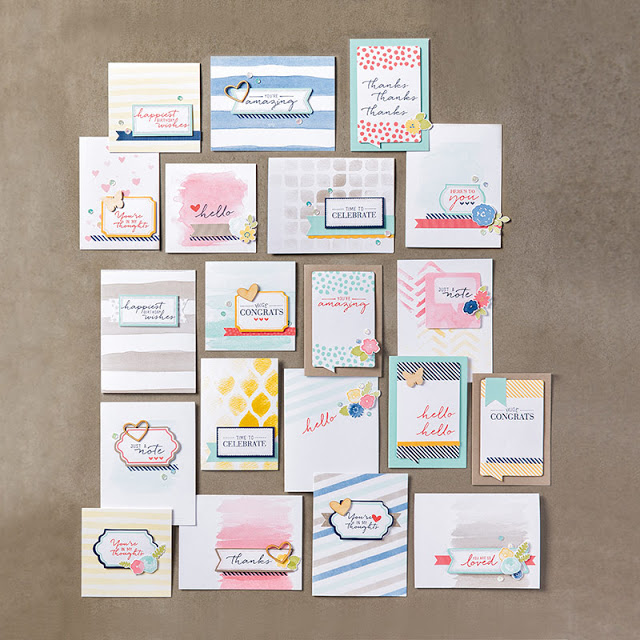 Watercolor Wishes, Blog Candy, Stampin'Up!
