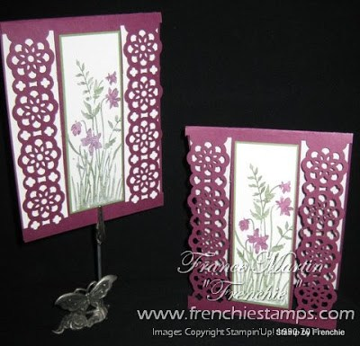 Lace Ribbon Border Punch Card/Video