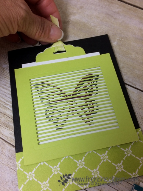 You Move Me, Move Me thinlits, Frenchie's Live, Stampin'Up!
